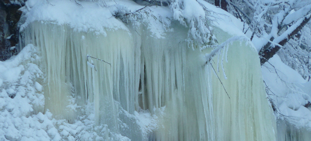 rjukan cascade de glace